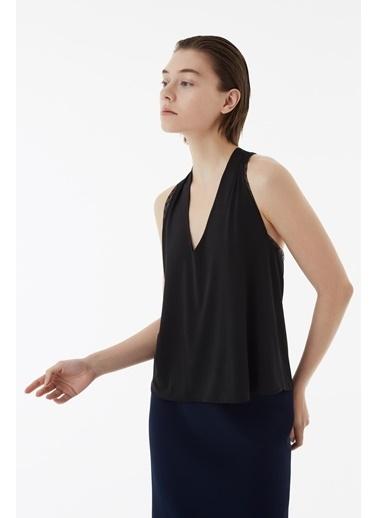 Exquise Bluz Siyah